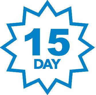 Selo 15 Dias de Garantia
